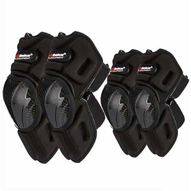Madbike k022 Motorrad Knie Kohlefaser Off-Road Motorrad Schutzausrüstung Knie Knie Motorrad Motorrad Ausrüstung Ellenbogen vier Sätze von