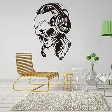 Mode Wand-Sticker Flugzeug-Wand Sticker Dekorative Wand Sticker Stoff Haus Dekoration Wandtattoo