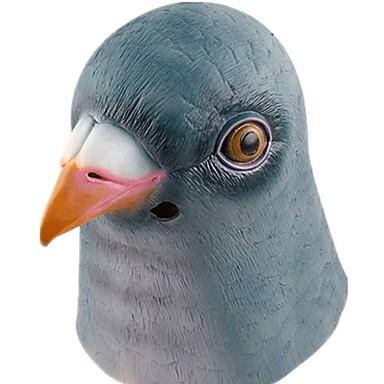 Halloween Mask Animal Mask Bird Horror Latex Glue Rubber Pieces Unisex Adults' Gift
