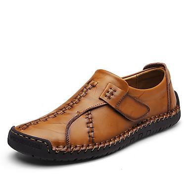 Férfi cipő Nappa Leather Tél Ősz Kényelmes Papucsok & Balerinacipők Kombinált mert Hétköznapi Hivatal és karrier Party és Estélyi Fekete