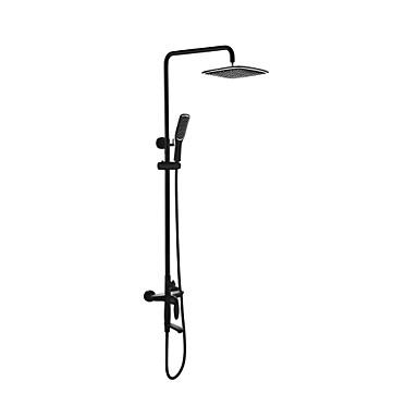 Zuhany csaptelep - Hagyományos / Vintage Olajjal kezelt bronz Zuhany rendszer Kerámiaszelep