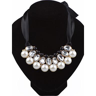 Damen Kreisform Personalisiert Modisch Simple Style Kragen Künstliche Perle Aleación Kragen . Hochzeit Party Geburtstag Verlobung