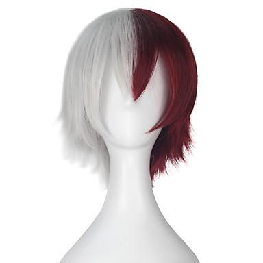 Cosplay Wigs My Hero Academy Battle For All / Boku no Hero Academia Cosplay Anime Cosplay Wigs 32cm CM Heat Resistant Fiber Men's Women's