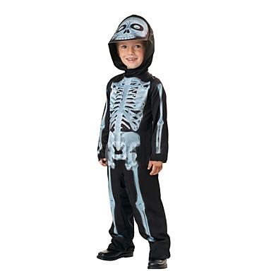 Skelett / Totenkopf Geist Cosplay Haloween Figuren Jungen Halloween Karneval Fest / Feiertage Halloween Kostüme Sonstiges Vintage