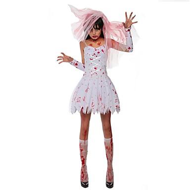Geist Vampire Cosplay Cosplay Kostüme Maskerade Frau Erwachsene Halloween Karneval Fest/Feiertage Halloween Kostüme Andere Vintage