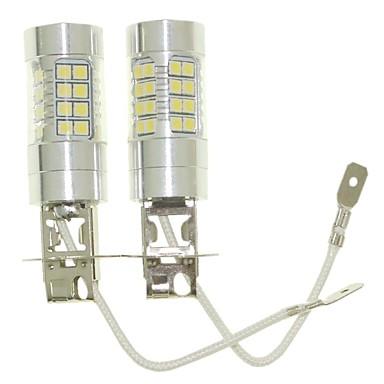 SENCART 2pcs H3 Autó Izzók 36W SMD 3030 1500-1800lm LED izzók Ködlámpa