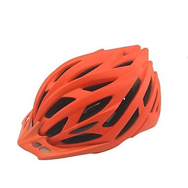 خوذة دراجة 9 المخارج قياس قابل للتعديل ESP + PC رياضات أخضر / الدراجة / الدراجة - برتقالي / أحمر / أزرق للجنسين