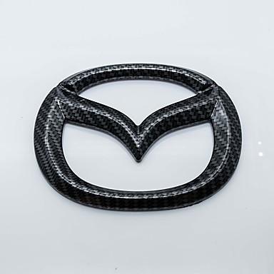 شعار السيارات الكربون الألياف الذهب الذهب شعار ل مازدا