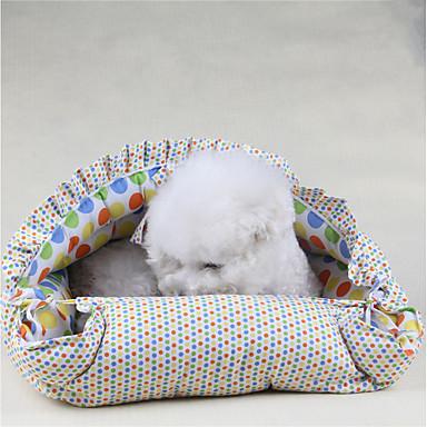 Hund Betten Haustiere Matten & Polster Blau Rosa Für Haustiere