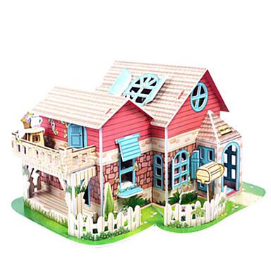 3D - Puzzle Holzpuzzle Architektur 3D Naturholz Mädchen Unisex Geschenk