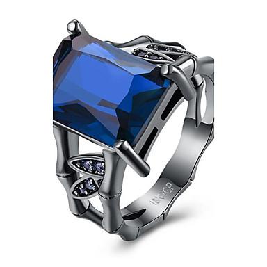 Damen Kubikzirkonia Aleación - Modisch Grün Blau Leicht Rosa Ring Für Party Geburtstag Geschenk Alltag