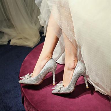 de Femme Paillette Demoiselle Chaussures Chaussures 06117997 Nouveauté Printemps Strass Matières Personnalisées Escarpin Automne Basique p1vprWwqRB