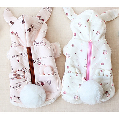 Hund Mäntel Hundekleidung Lässig/Alltäglich Solide Weiß Beige Grau Purpur Kostüm Für Haustiere