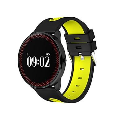 Intelligens karkötő S16 for iOS / Android Érintőképernyő / Szívritmus monitorizálás / Elégetett kalória Lépésszámláló / Testmozgásfigyelő / Alvás nyomkövető / Ébresztőóra / Lépésszámlálók