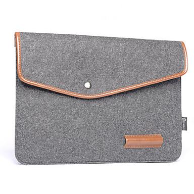 Notizbuch Liner Pack Leder Wolle Filz Computer Tasche 15,4 Zoll