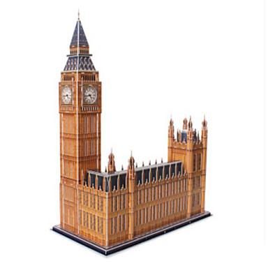 3D építőjátékok Fejtörő Papírmodell Népszerű épület Templom Fa Uniszex Ajándék
