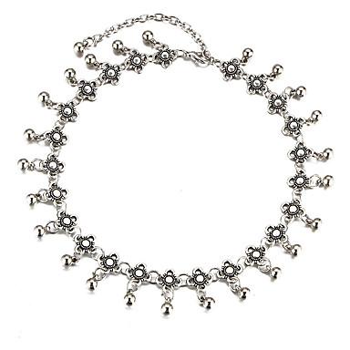 Női Bohém MOON Rövid nyakláncok  -  Vintage Bohém Ezüst Nyakláncok Kompatibilitás Esküvő Parti Születésnap