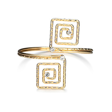 Women's Cuff Bracelet - Luxury, Tassel, Punk Bracelet Gold For Party Graduation Daily