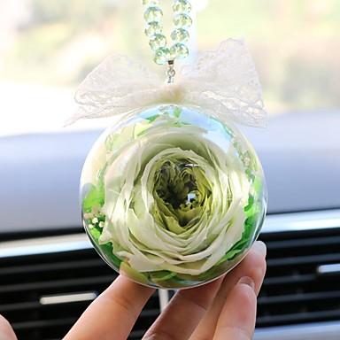 رخيصةأون اكسسوارات السيارات الداخلية-دي السيارات المعلقات الديكور زهرة هدية سيارة قلادة&الحلي والزجاج والكريستال