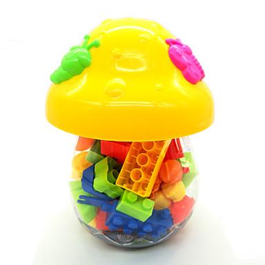 baratos Brinquedos de Montar-Brinquedos de Faz de Conta Blocos de Construir Brinquedos Brinquedos Cogumelo Plástico Duro Crianças Criança Peças