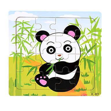 Holzpuzzle Bildungsspielsachen Spielzeuge Ente Bär andere Panda Meerestier Tiere Holz Unisex Stücke