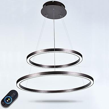 أضواء معلقة ضوء سفل - يشمل لمبات, قابل للتعديل, تخفيت, 110-120V / 220-240V, ديمابل مع جهاز التحكم عن بعد, وشملت مصدر ضوء LED / 5-10㎡ / LED متكاملة