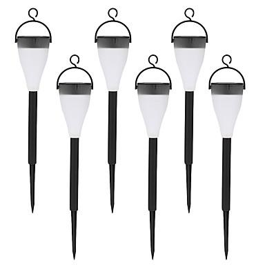 4db rozsdamentes acél 1 vezetett szoláris gyep fény útpálya sétáló kerti lámpa