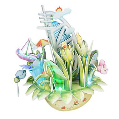 3D - Puzzle Spielzeuge Architektur 3D Naturholz Unisex Stücke