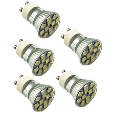 1,5 W 130 lm LED szpotlámpák 12 led SMD 5050 Dekoratív Meleg fehér Hideg fehér AC 220