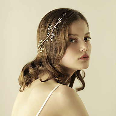 Pearl Headbands with 1 Wedding / Special Occasion / Anniversary Headpiece