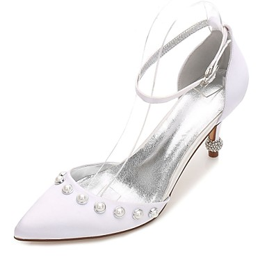 e77adc7f548 Women s Shoes Satin Spring   Summer Comfort   D Orsay   Two-Piece  . cheap  Wedding Shoes-Women  039 s ...