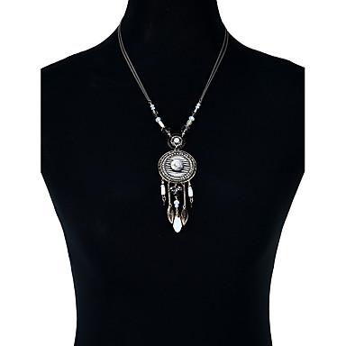 Női Luxus / Bohém Nyilatkozat nyakláncok - Luxus / Bojt / Bohém Geometric Shape Arany Nyakláncok Kompatibilitás Karácsony / Parti /