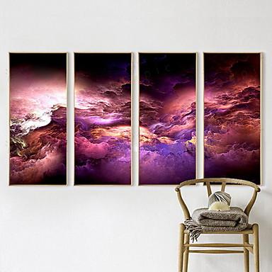 Vier Panele Horizontal Druck Wand Dekoration For Haus Dekoration
