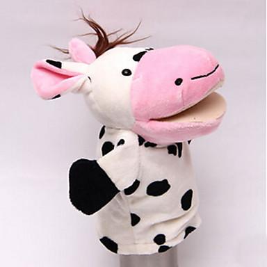 Ujjbáb Ló Cow Víziló Szarvas Állatok Pamut anyag Gyermek Felnőttek Ajándék