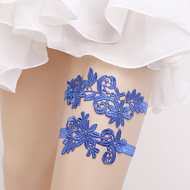 Elastic Leg Warmers Party Sexy Wedding Wedding Garter with Flower Garters