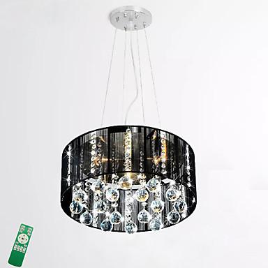 LED Divatos és modern Mennyezeti lámpa Háttérfény - Az izzó tartozék, 220-240 V, Távirányítóval szabályozható, LED fényforrás