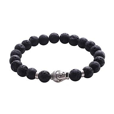 Men's Women's Strand Bracelet - Turquoise Friends Personalized Bracelet Black For Christmas Casual Formal