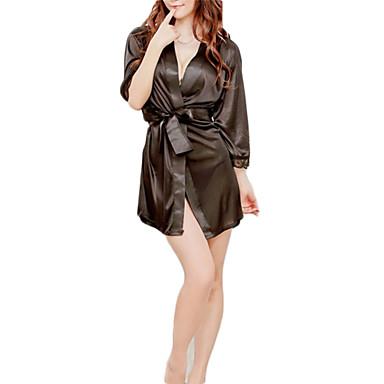 Uniformen Cosplay Kostüme Fest / Feiertage Halloween Kostüme Weiß Schwarz Rosa Solide Pyjamas Unterwäsche