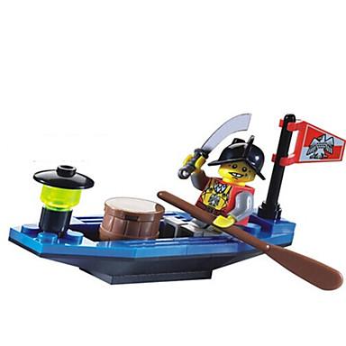 ENLIGHTEN Bausteine Minifiguren aus Blockbausteinen Schiff Unisex Spielzeuge Geschenk