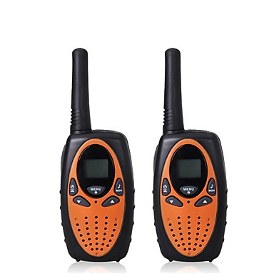 365 Walkie Talkie Handheld Low Battery Warning VOX Encryption CTCSS/CDCSS Backlight LCD Display Scan 1.5KM-3KM 1.5KM-3KM 1W Walkie Talkie