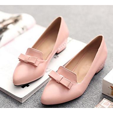 Damen Schuhe PU Sommer Komfort High Heels Für Normal Weiß Gelb Rot Rosa Orange & Schwarz