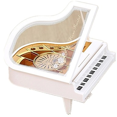 Music Box Piano Musical Instruments Dancing Large Size Rotating Kid's Adults Kids Adults' Gift Unisex