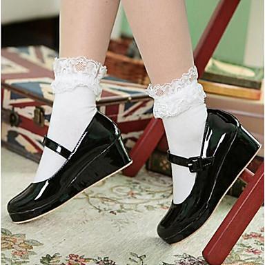 Damen Schuhe Lackleder Frühling Herbst Komfort Flache Schuhe Für Normal Schwarz Gelb Rosa