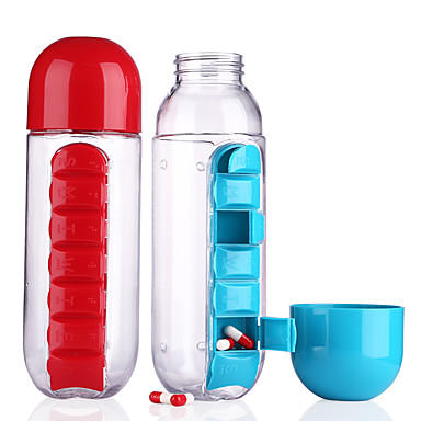 Drinkware Plastics Water Bottle Water Pot & Kettle Cup & Saucer Clear Water Pitcher Travel Convenient 1pcs