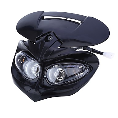 Motorcycle Light Bulbs 10~25W 750lm 4 Headlamp For Motorcycles
