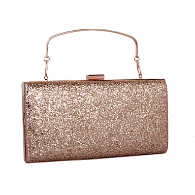 Women's Bags leatherette Clutch Sequin / MiniSpot Gold / Silver