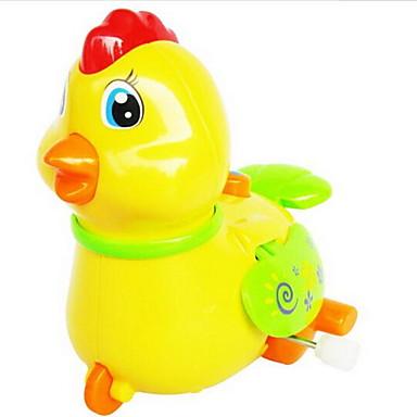 Felhúzós játék Csirke Műanyagok Darabok Uniszex Gyermek Ajándék