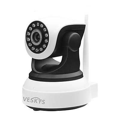 VESKYS T2 1mp IP Camera داخلي with أولي / اليوم ليلة 64GB / PTZ / سلكي / CMOS / لاسلكي / عنوان IP ديناميكي
