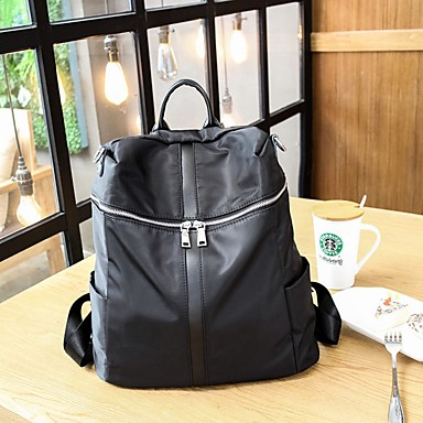 Women's Bags Oxford Cloth Backpack for Casual All Seasons Black