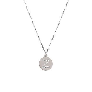 Női Nyaklánc medálok - Rozsdamentes acél Arany, Ezüst / Születésnap / fokozatokra osztás / Ajándék